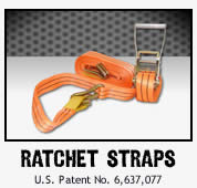 Ratchetstraps and tie downs